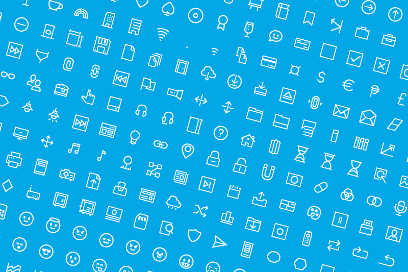 Windows 10 Vector Icons - free design resource download