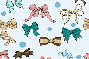 Vintage Ribbons and Bows